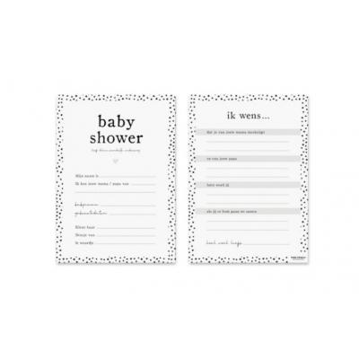 Babyshower | Invulkaarten