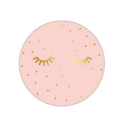 Kadostickers | Lashes gold pink
