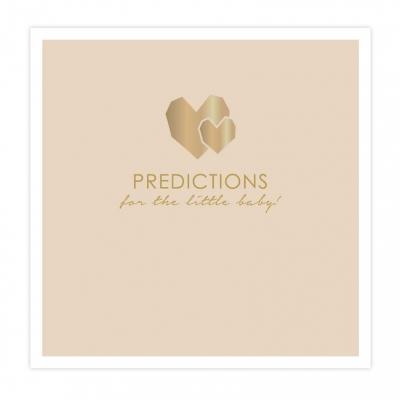 Babyshower | Prediction cards